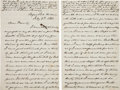 Miscellaneous:Ephemera, Union Officer's Letter Describing the Death of His Good FriendDuring the Siege of Port Hudson....