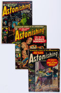 Golden Age (1938-1955):Horror, Astonishing Group of 5 (Atlas, 1952-54) Condition: AverageGD/VG.... (Total: 5 Comic Books)