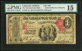 National Bank Notes:Indiana, Lafayette, IN - $1 1875 Fr. 383 The National State Bank Ch. # 930. ...