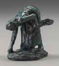 Fine Art - Sculpture, European:Antique (Pre 1900), After Jules Dalou (French, 1838-1902). Field Laborer, circa1895. Bronze with greenish-brown patina. 3-1/4 inches (8.3 c...