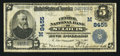 National Bank Notes:Missouri, Saint Louis, MO - $5 1902 Plain Back Fr. 600 The Central NB Ch. #(M)8455. ...