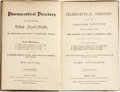 Books:Medicine, John Rudolphy. Pharmaceutical Directory of All the Crude Drugs Now in General Use; Their Etymology and Names in Alphabet...