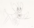 Animation Art:Production Drawing, Alladin Jafar Animation Drawing (Walt Disney, 1992)....