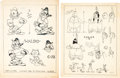 animation art:Model Sheet, Van Beuren Studios Model Sheet Group of 10 (Van Beuren, 1930s)....(Total: 10 Items)