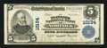National Bank Notes:Virginia, Norfolk, VA - $5 1902 Plain Back Fr. 602 The Seaboard NB Ch. #10194. ...
