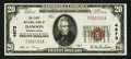 National Bank Notes:Pennsylvania, Dawson, PA - $20 1929 Ty. 1 The First NB Ch. # 4673. ...