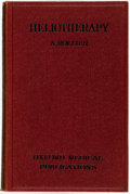Books:Medicine, A. Rollier. Heliotherapy. London: Henry Frowde and Hodder & Stoughton, [1923]....