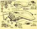 "animation art:Model Sheet, Alex Toth Sea Lab 2020 ""Revised Deep Diver"" Hand-Drawn ModelSheet (Hanna-Barbera, 1972)...."
