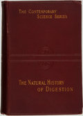 Books:Medicine, A. Lockhart Gillespie. The Natural History of Digestion.London: Walter Scott, 1898....