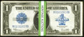 Large Size:Silver Certificates, Fr. 237 $1 1923 Silver Certificates Choice New. 33 Consecutive Examples. . ... (Total: 33 notes)