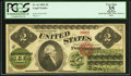 Large Size:Legal Tender Notes, Fr. 41 $2 1862 Legal Tender PCGS Apparent Very Fine 35.. ...