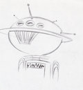 Animation Art:Production Drawing, The Jetsons Uniblab Animation Drawing (Hanna-Barbera,1962)....
