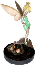 Animation Art:Limited Edition Cel, Peter Pan Tinker Bell Limited Edition Bronze Sculpture (MarcDavis Studio, 1998)....