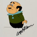 Animation Art:Production Cel, The Jetsons Mr. Spacely Production Cel Signed by Mel Blanc(Hanna-Barbera, 1985)....