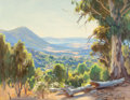 Fine Art - Painting, American:Modern  (1900 1949)  , Ernest Buckmaster (Australian, 1880-1963). Jindabyne. Oil oncanvas. 28 x 36 inches (71.1 x 91.4 cm). Signed lower right...