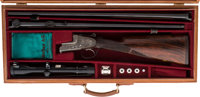 Cased 20 Gauge Merkel 313 Sidelock Over and Under Shotgun with extra 20 gauge/222 Remington Combination Barrels with Tel...