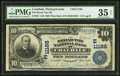 National Bank Notes:Pennsylvania, Coaldale, PA - $10 1902 Plain Back Fr. 632 The Broad Top NB Ch. #(E)11188. ...