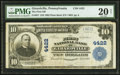 National Bank Notes:Pennsylvania, Girardville, PA - $10 1902 Plain Back Fr. 627 The First NB Ch. #4422. ...