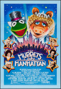 """Movie Posters:Comedy, The Muppets Take Manhattan (Tri-Star, 1984). One Sheet (27.5"""" X 40""""). Comedy.. ..."""