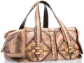 """Luxury Accessories:Accessories, Salvatore Ferragamo Pink Patternmaker Tote Bag with Gold Hardware.Excellent Condition. 15"""" Width x 7"""" Height x 7""""Wid..."""