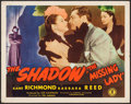 """Movie Posters:Crime, The Missing Lady (Monogram, 1946). Half Sheet (22"""" X 28""""). Crime....."""