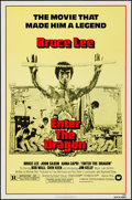 """Movie Posters:Action, Enter the Dragon (Warner Brothers, R-1979). One Sheet (27"""" X 41"""").Action.. ..."""