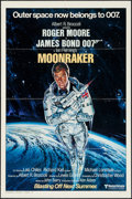 "Movie Posters:James Bond, Moonraker (United Artists, 1979). One Sheet (27"" X 41"") Style A Advance. James Bond.. ..."
