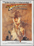 "Movie Posters:Adventure, Raiders of the Lost Ark (CIC, 1981). French Grande (47"" X 63"").Adventure.. ..."