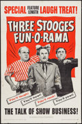 """Movie Posters:Comedy, Three Stooges Fun-O-Rama (Columbia, 1959). One Sheet (27"""" X 41"""").Comedy.. ..."""