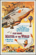 """Movie Posters:Science Fiction, Master of the World (American International, 1961). One Sheet (27""""X 41""""). Science Fiction.. ..."""