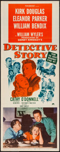"Movie Posters:Crime, Detective Story (Paramount, 1951). Insert (14"" X 36""). Crime.. ..."