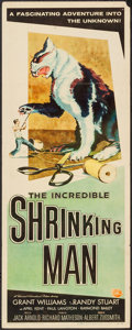 "Movie Posters:Science Fiction, The Incredible Shrinking Man (Universal International, 1957).Insert (14"" X 36""). Science Fiction.. ..."