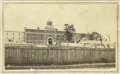 Photography:CDVs, Rare CDV from Tennessee State Penitentiary. Used as a P.O.W. prison and site of Champ Fergerson's hanging, the Tennessee Sta...