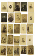 "Photography:CDVs, Dealers Lot of Twenty-Five George B. McClellan Cartes de Visite. A larger-than-life figure to be sure; ""Little Mac"" was ... (Total: 25 items)"
