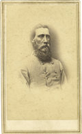 Photography:CDVs, Confederate General John Bell Hood Carte de Visite. Confederate General John Bell Hood, the famed leader of the Texas Br...