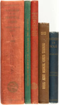 Books:Medicine, [Medicine, Military]. Group of Five Books Related to CorpsTraining. Various publishers and dates.... (Total: 5 Items)