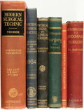 Books:Medicine, [Medicine]. Group Six of Books Related to Surgery. Variouspublishers and dates.... (Total: 6 Items)
