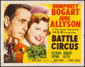 "Movie Posters:War, Battle Circus (MGM, 1953). Half Sheet (22"" X 28"") Style A. War....."
