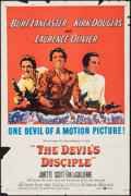 """Movie Posters:Comedy, The Devil's Disciple (United Artists, 1959). One Sheet (27"""" X 41""""). Comedy.. ..."""