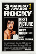 "Movie Posters:Academy Award Winners, Rocky (United Artists, 1977). International One Sheet (27"" X 41"")Academy Award Style. Sports.. ..."