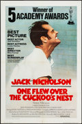 "Movie Posters:Academy Award Winners, One Flew Over the Cuckoo's Nest (United Artists, 1975).International One Sheet (27"" X 41"") Academy Award Style. Drama....."