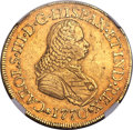 Colombia, Colombia: Charles III gold 8 Escudos 1770 PN-J XF45 NGC,...