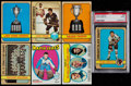 Hockey Cards:Lots, 1971 & 1972 Topps Hockey Collection (400+)....