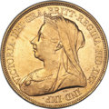 Great Britain, Great Britain: Victoria gold 5 Pounds 1893 MS62 ANACS,...