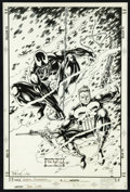 Original Comic Art:Covers, Tom Lyle - Venom#1 Cover Original Art (Marvel, 1993).. ...