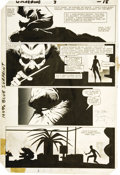 Original Comic Art:Panel Pages, Frank Miller and Joe Rubinstein - Wolverine Limited Series #3, page18 Original Art (Marvel, 1982).. ...