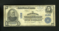 National Bank Notes:Virginia, Lynchburg, VA - $5 1902 Plain Back Fr. 599 The Lynchburg NB Ch. # 1522. The signatures are barely there, but the cashier...