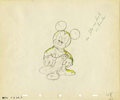 "animation art:Production Cel, ""The Sorcerer's Apprentice"" Animation Production Drawing OriginalArt (Disney, 1940). ..."