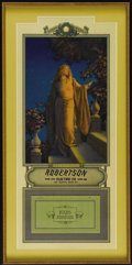 Prints:American, MAXFIELD PARRISH (American 1870 - 1966). Edison Mazda Calendar,Small Complete. Enchantment, 1926. Period print on paper...