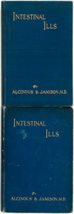 Books:Medicine, Alcinous B. Jamison. Two Editions of Intestinal Ills. New York City: Chas. A. Tyrrell, 1914 and 1915.... (Total: 2 Items)